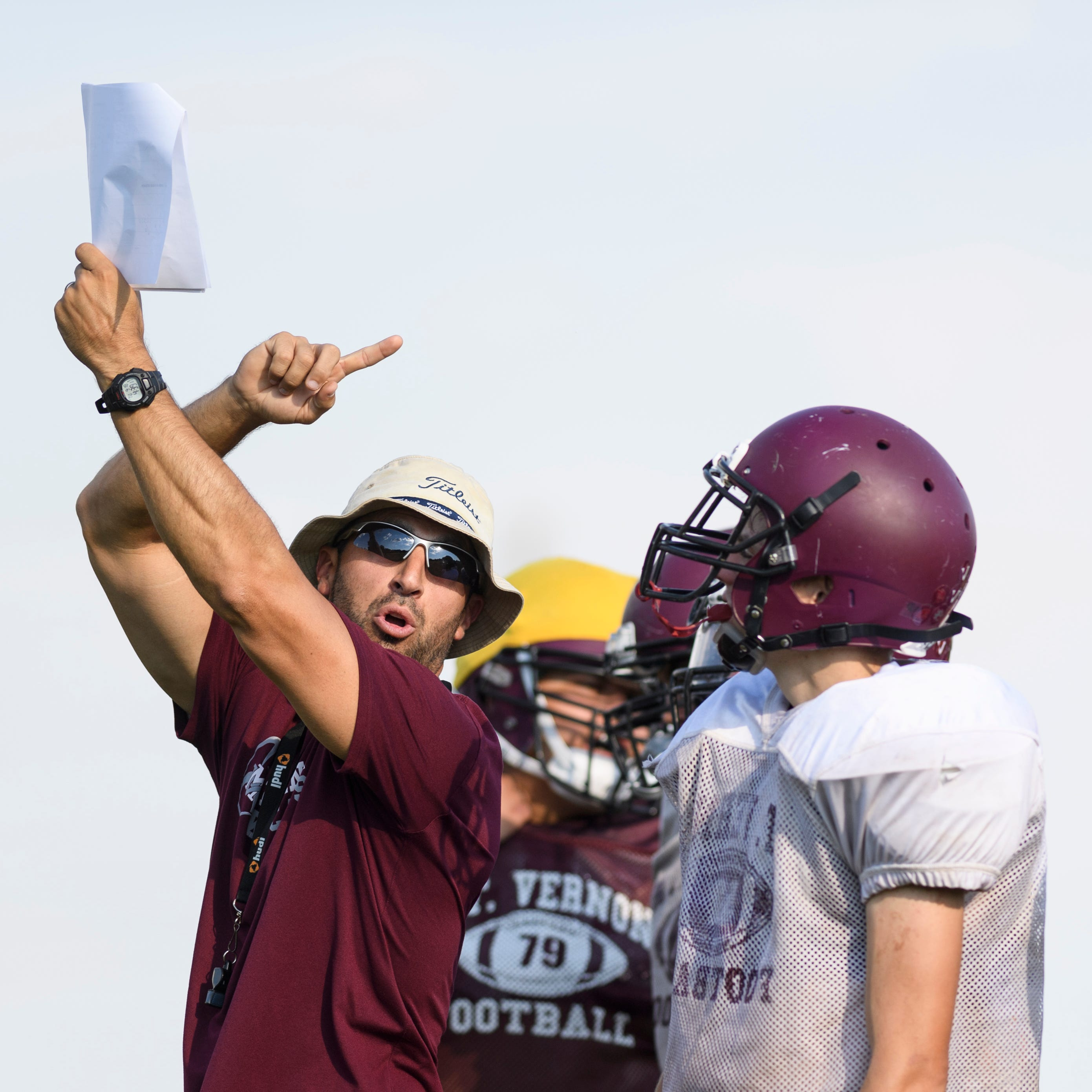 Cory Brunson working his magic with Mount Vernon football program