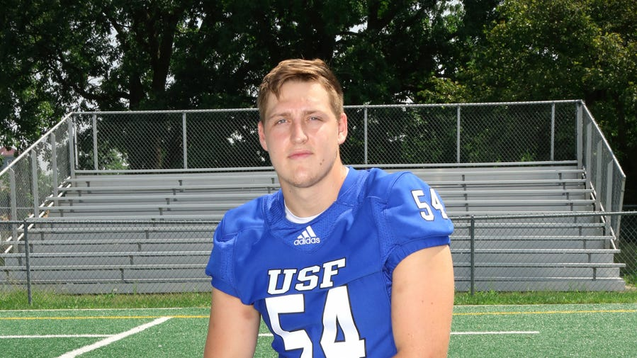 Castle grad Thornbury transitions to defensive end at St. Francis, winners of 26 in a row