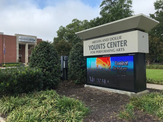 The Younts Center for the Performing Arts hosts shows and events throughout the year in its auditorium near downtown Fountain Inn.