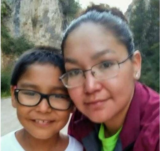 Treyton Louis Mount of Fort Belknap was last seen on Sept. 17 and is believed to be with his non-custodial mother, Collette Marie Stiffarm (pictured), according to the Montana DOJ.