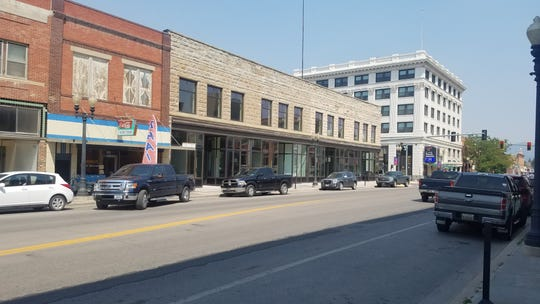 The American Prairie Reserve plans to transform the two-story Power Mercantile Building in downtown Lewistown, the middle building, into the National Discovery Center, a jumping off point for visitors to its reserve that will also have a multi-purpose gathering room, speaker series, conference rooms, exhibit hall and permanent and rotating exhibits focusing on grasslands, wildlife and the region's history.