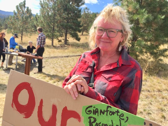 Joanne Gores of Helena says she is an advocate for public land issues.