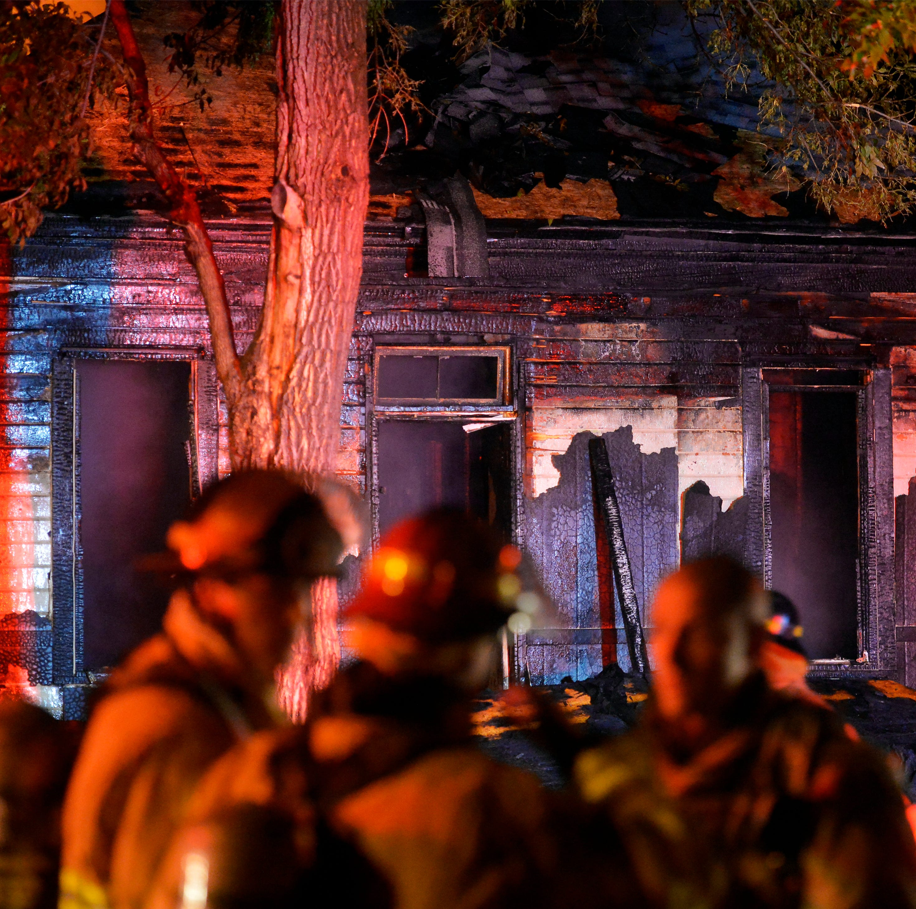 Great Falls home destroyed by fire Wednesday night