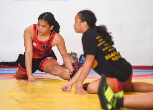 Olympian Wrestlers 11