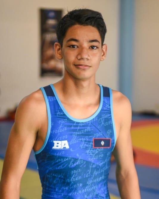 Olympian Wrestlers 06