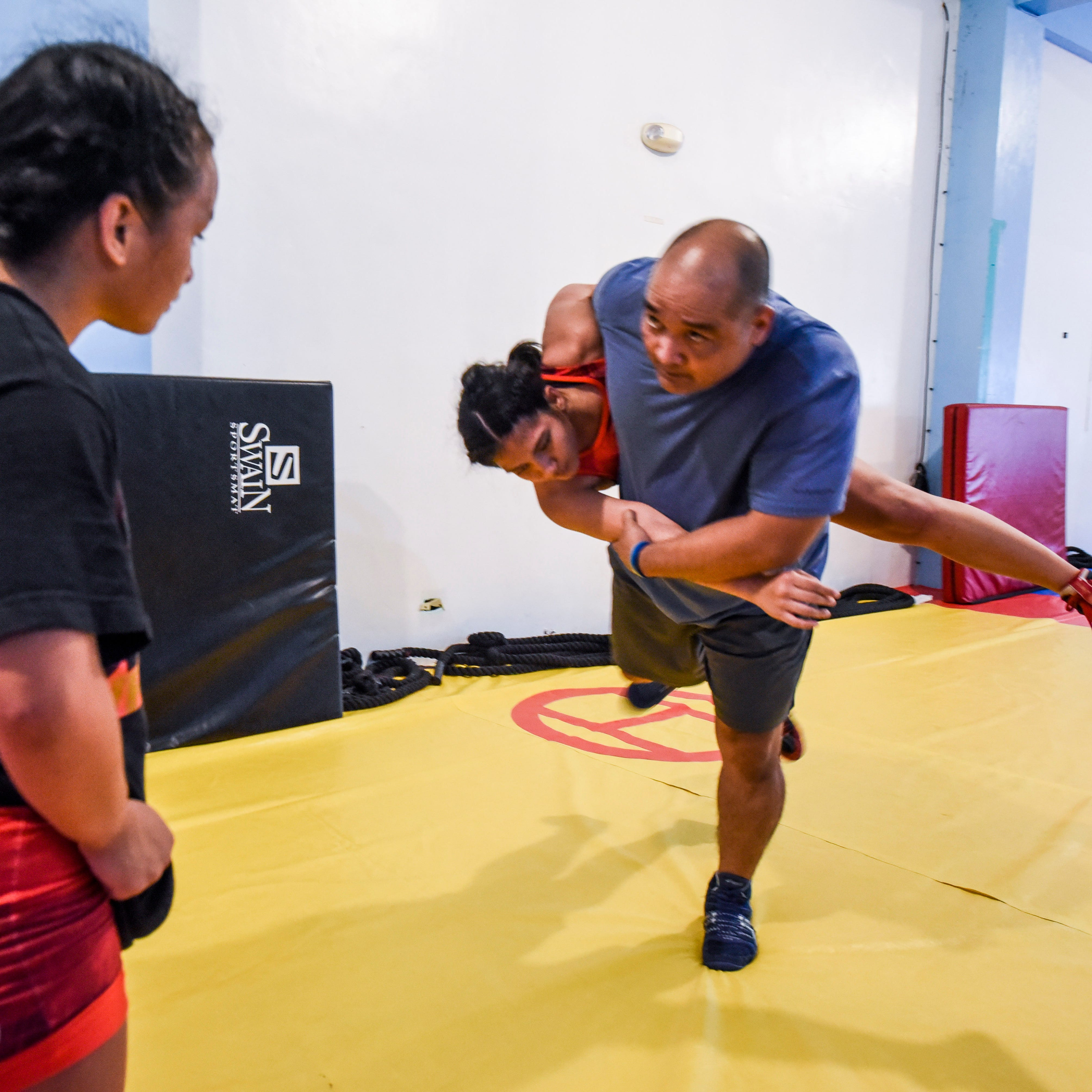 Guam wrestlers gain valuable experience after Youth Olympic Games