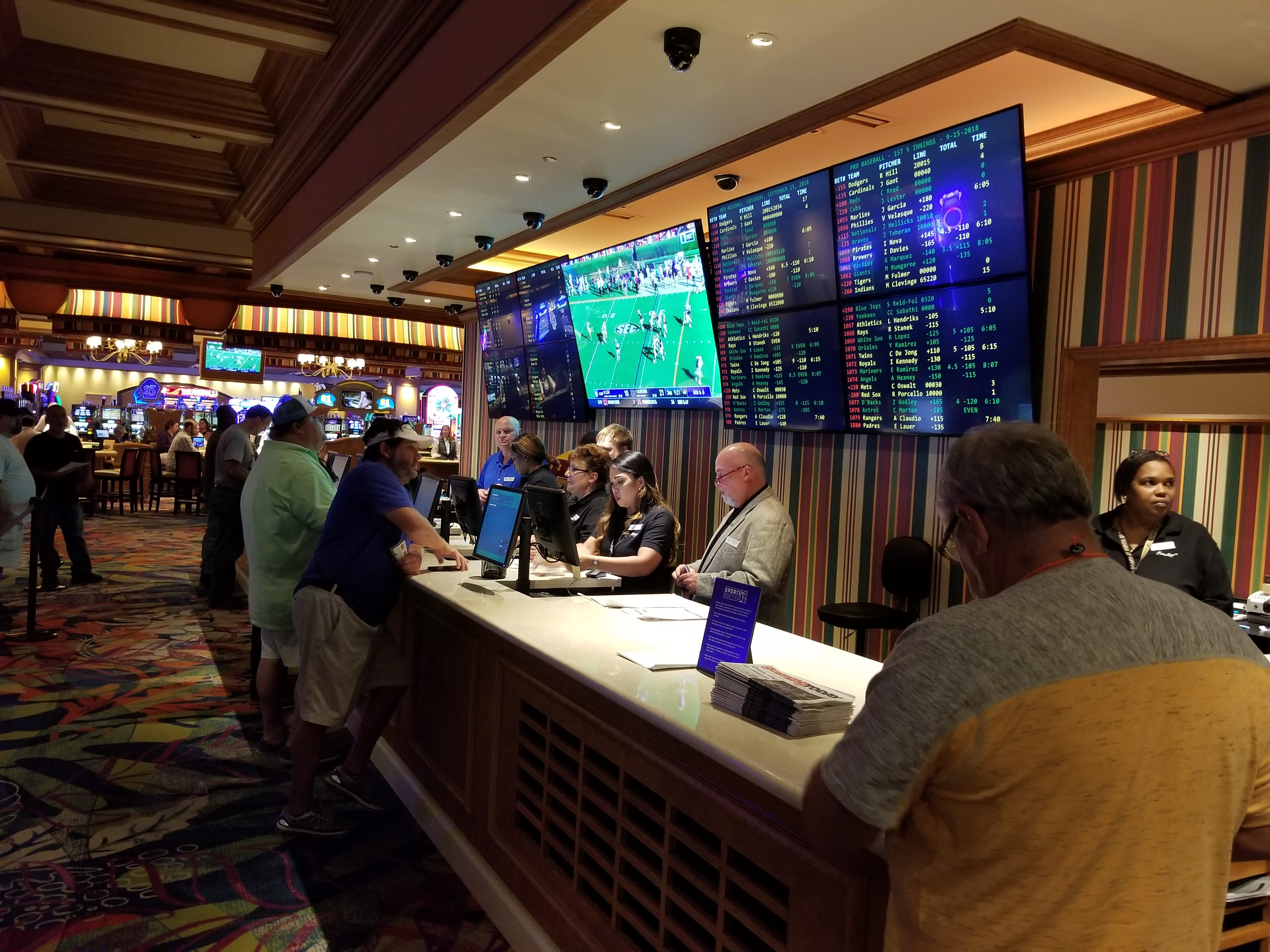 is there sports betting in louisiana