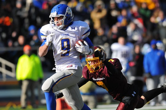 Jack Hockaday was an all-around force at Maroa-Forsyth, setting state records for most yards from scrimmage and games played in a career.