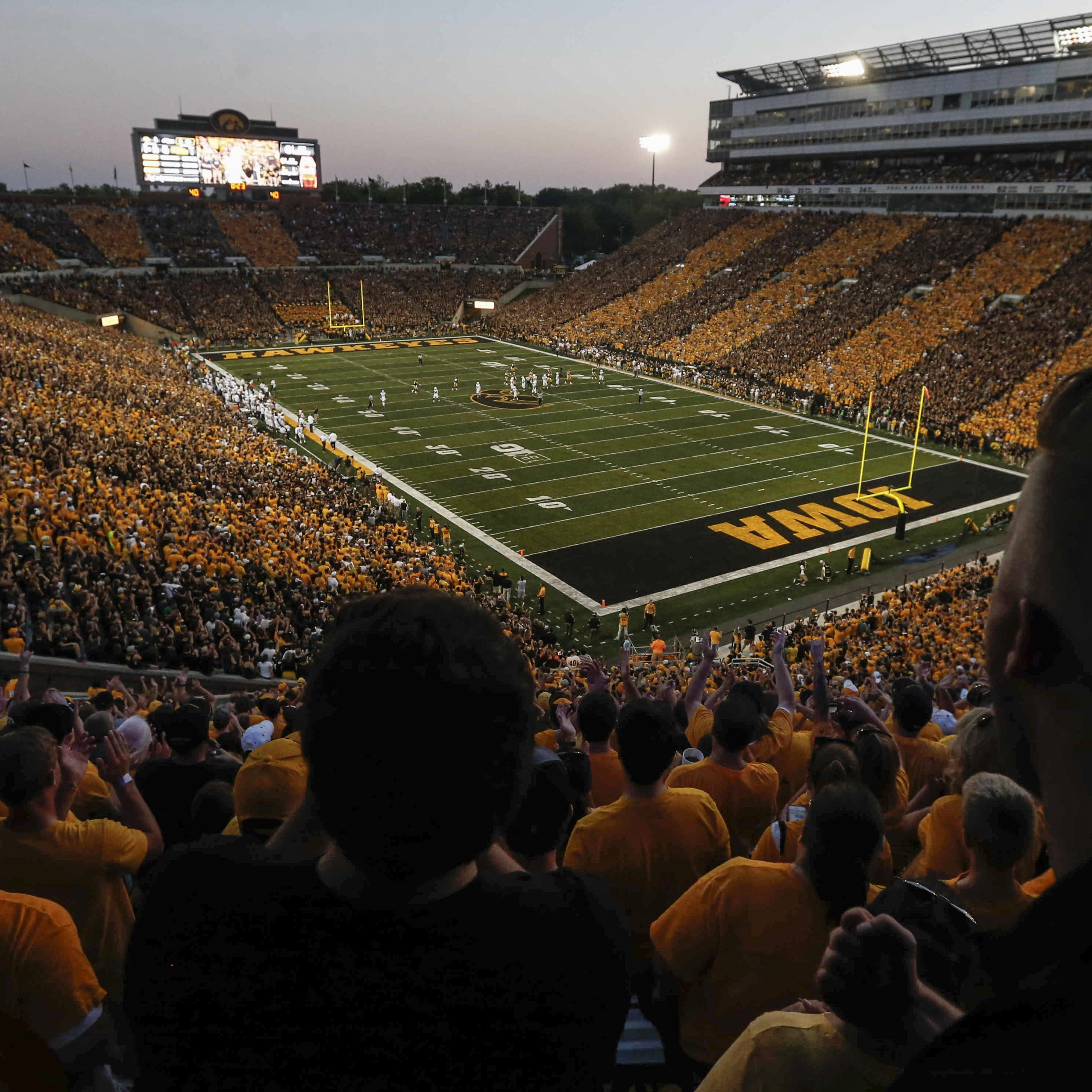 """An overview of last year's """"Stripeout"""" at Kinnick..."""