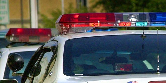 Lights on a police squad car. / Matt Kryger / The Star 2000 file photo