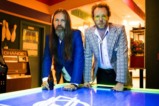 Whiskey Wolves of the West (Leroy Powell, left, and Tim Jones) will perform Sept. 23 at the Holler on the Hill festival.