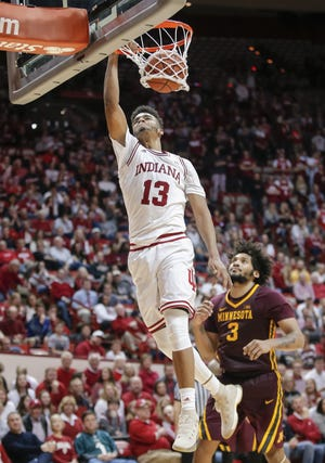 Juwan Morgan is back for his senior season as expectations for IU have risen for 2018-19.