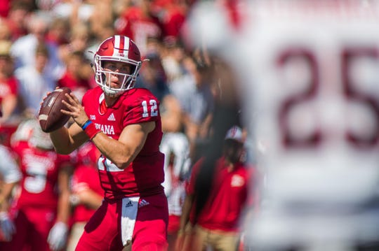 Quarterback Peyton Ramsey has provided a steady hand for the Hoosiers' offense.