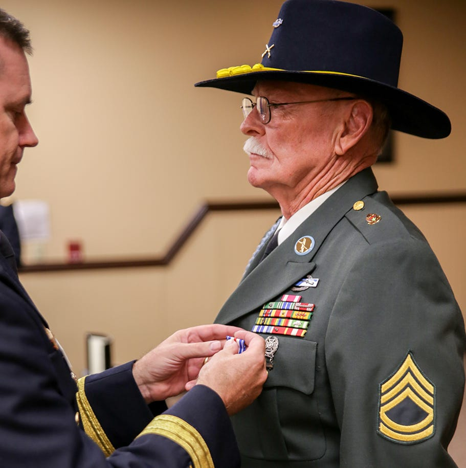 Gallantry in action: Humboldt veteran receives Silver Star