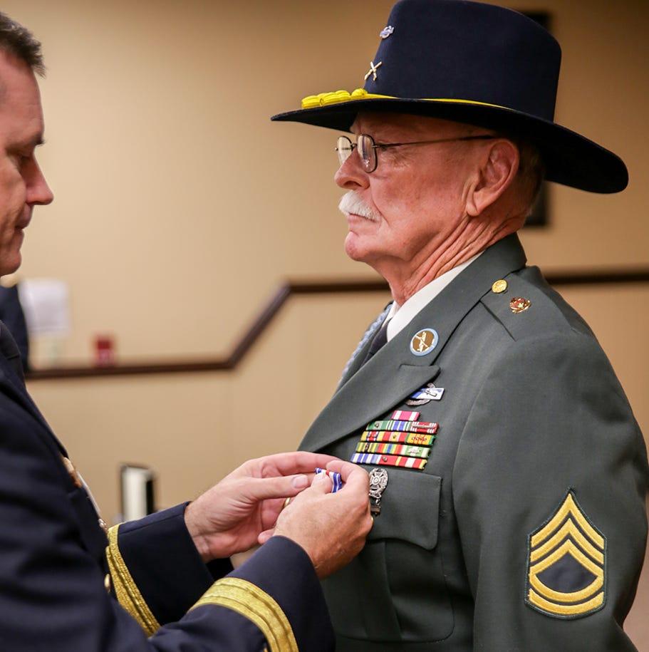 Gallantry in action: Humboldt veteran receives Silver Star