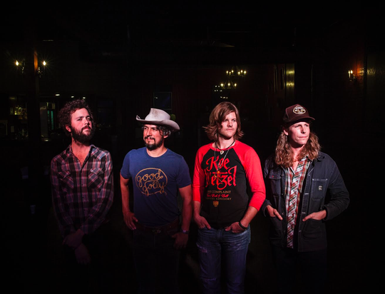 Knoxville's The Black Lillies are composed of, from left, Sam Quinn, Cruz Contreras, Dustin Schaefer and Bowman Townsend.