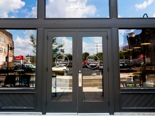 Rebel Kitchen is located at 108 W. Jackson Avenue in Knoxville's Old City.