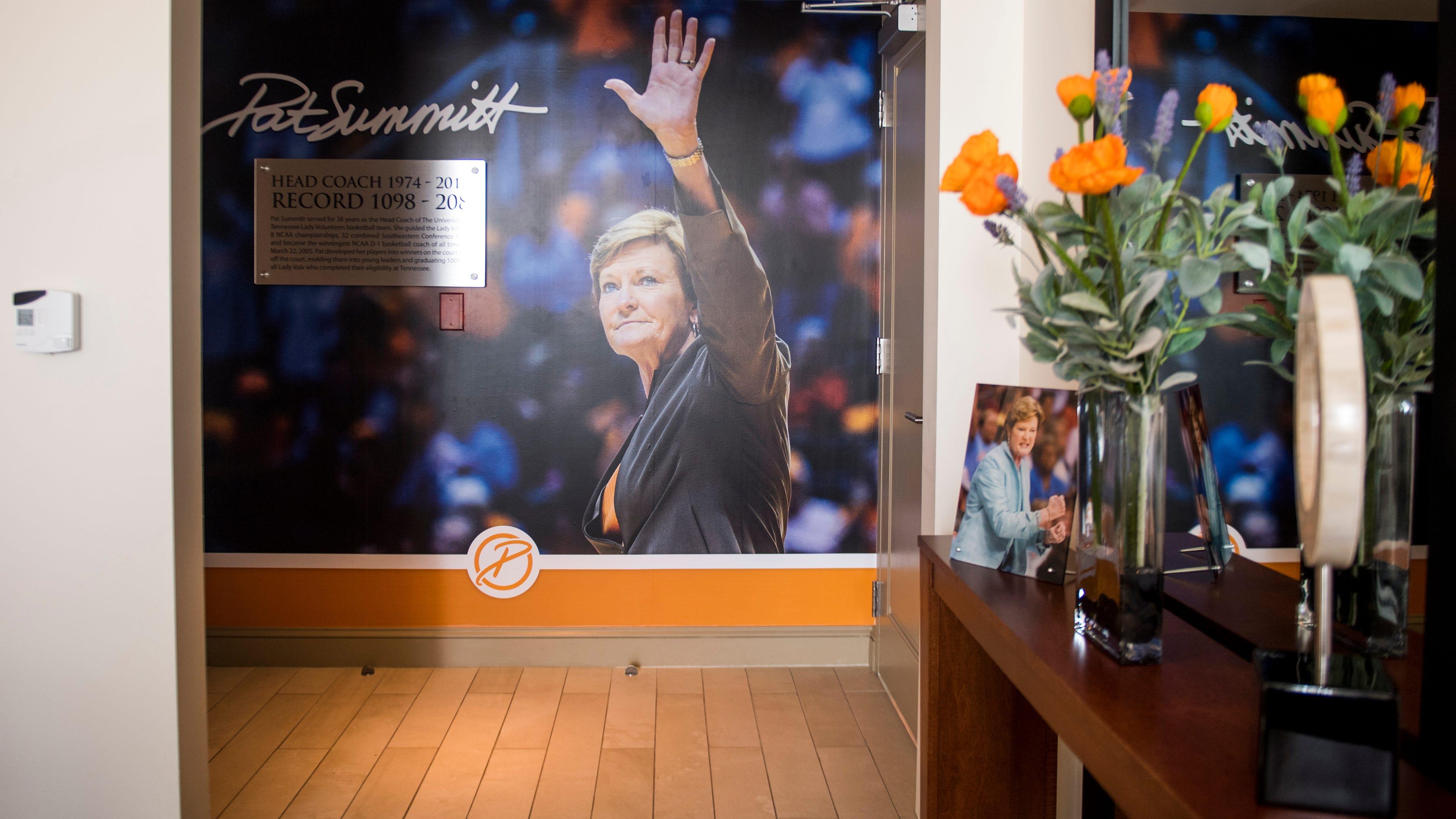 Pat Summitt Suite dedicated at The Tennessean Hotel