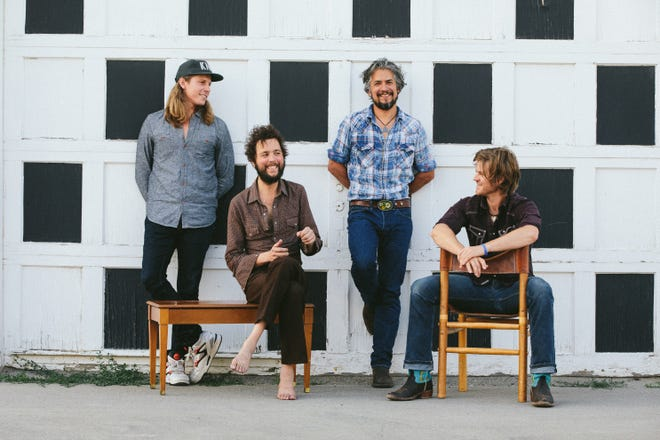 Knoxville's The Black Lillies are composed of, from left, Bowman Townsend, Sam Quinn, Cruz Contreras and Dustin Schaefer.