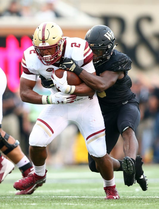 Ncaa Football Boston College At Wake Forest