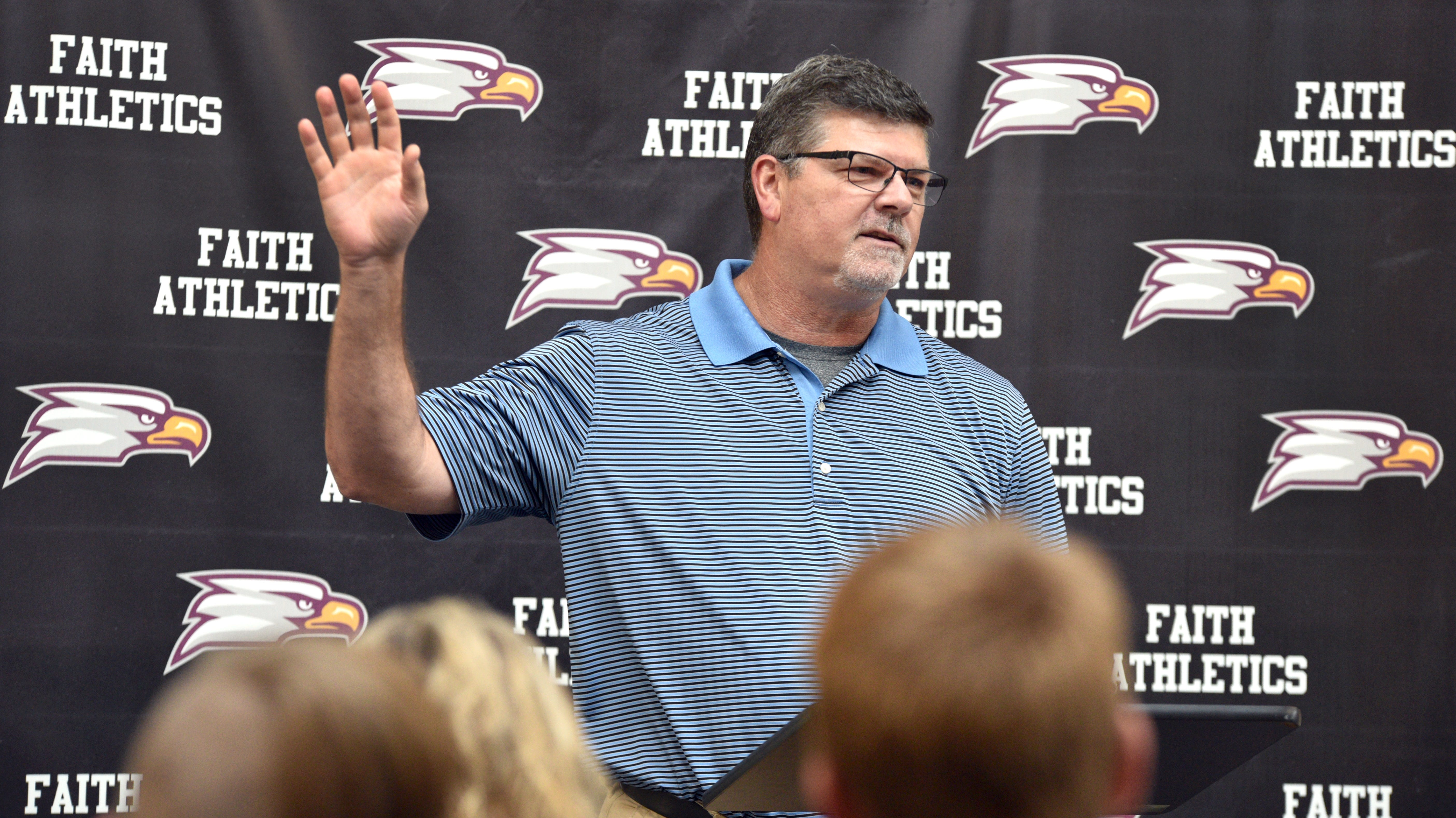 Dan Hickman was introduced as the next varsity baseball coach at Faith Christian School in Lafayette on Thursday September 20, 2018. Hickman brings decades of experience to the position from youth ball all the way through high school.  As part of his resume, he organized and administrated the Babe Ruth program in Rensselaer. Hickman also brings a strong desire to mentor young men and help them grow into leaders in the community.