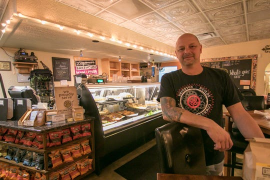 Wooden Spoon owner and chef Steve Pilon spoke about renovations to his downtown Brighton restaurant, shown Thursday, Sept. 20, 2018. He has applied for a liquor license to open a Mexican-themed eatery in the former Yum Yum Tree building downtown.