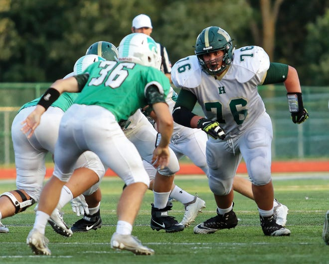 Grant Porter of Howell is a three-year starter and returning first-team all-county offensive lineman.
