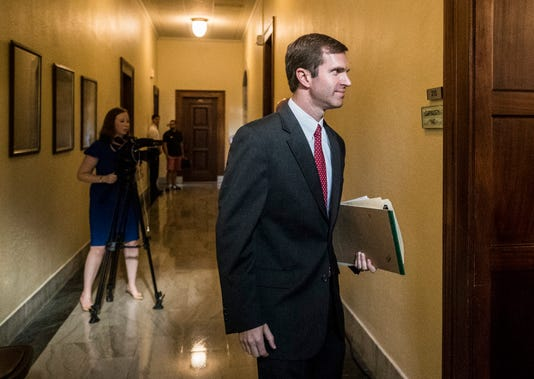 Andy Beshear Heads To Supreme Court