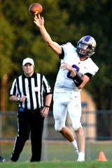 Quarterback Geoff Knaggs is Fowlerville's leading rusher and also a starting cornerback.