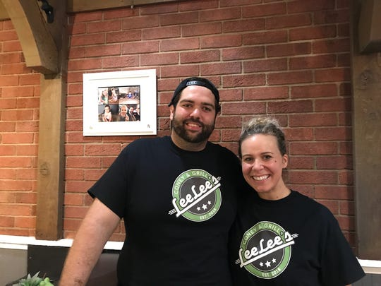 Robert and Jessica Lajcaj will open Lee Lee's Coney & Grill on East Michigan Avenue, Saturday, Sept. 22.