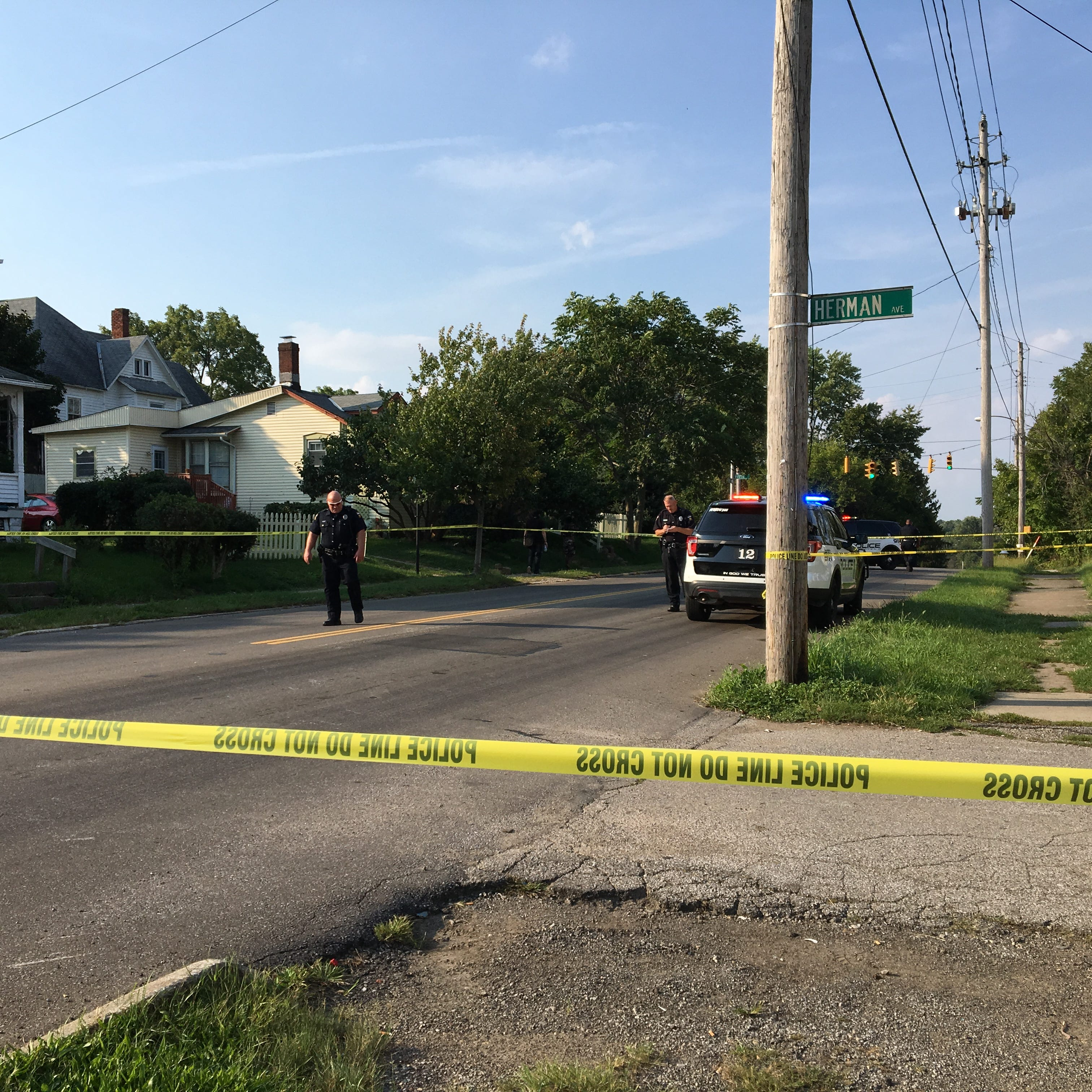 Man injured in Bowman Street drive-by shooting