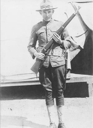 An unknown World War I soldier