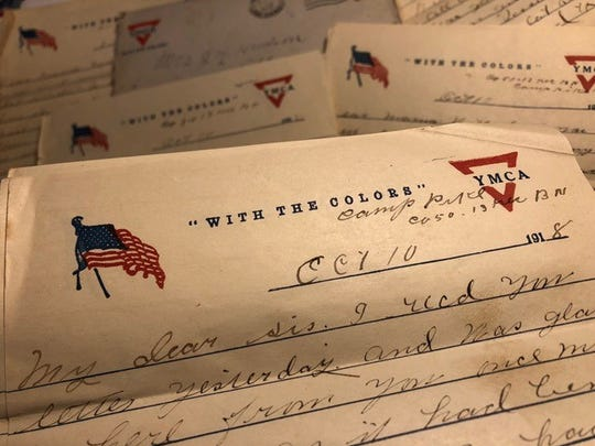 Private Millard Hudson's letters home