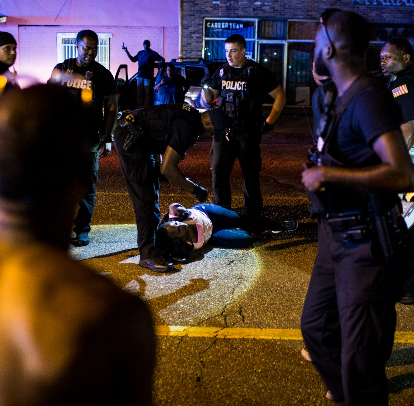 Martavious Banks shooting: 6 protesters arrested after shutting down Elvis Presley Boulevard