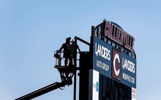 Collierville High School unveiled their new 5,000-seat stadium called the Landers SportsPlex.