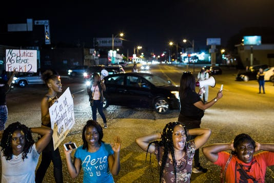 Martavious Banks Shooting Protest