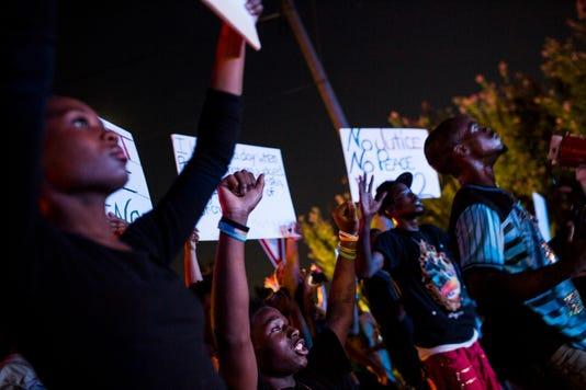 Martavious Banks Shooting Protest