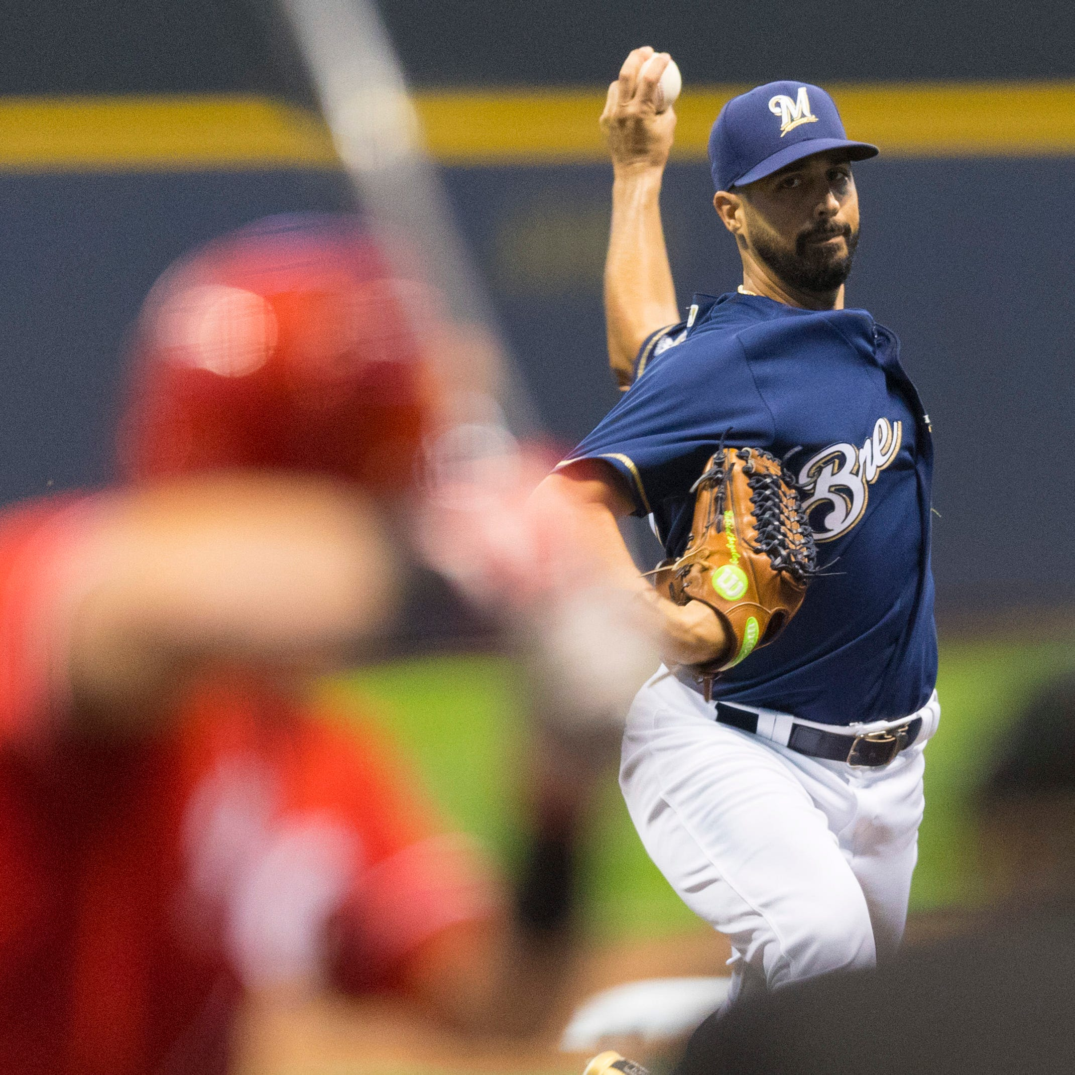 Having Gonzalez on their side instead of Harvey was good omen, and a lift, for Brewers