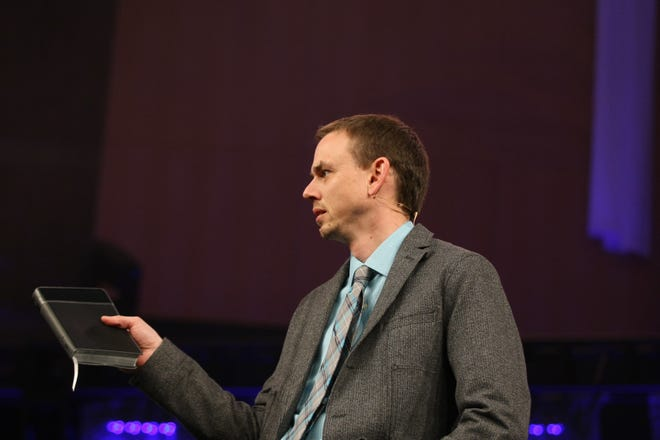 Elmbrook Church Senior Pastor Jason Webb abruptly resigned Sept. 19, 2018, in a letter to the congregation and staff. Webb wrote he had been unfaithful to his wife and is battling an addiction.