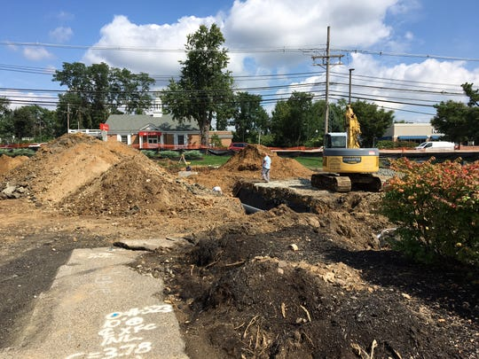 Excavation for a Chick-fil-A restaurant in Morris Plains expected to open by spring 2019