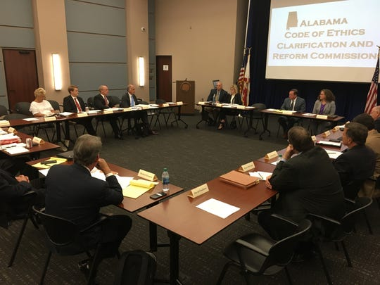 The Alabama Code of Ethics Clarification and Reform Commission meets on September 20, 2018.