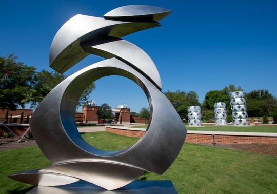 The soon to be opened Sculpture Garden at the Montgomery Museum of Fine Arts in Montgomery, Ala., as seen on Thursday September 20, 2018.
