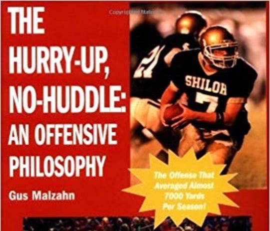 The cover of Gus Malzahn's book, published in 2003.