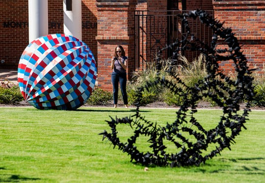 The Montgomery Museum of Fine Arts' Sculpture Garden will be the site of one of this year's Flight of Arts events.