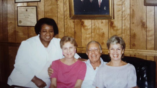 Dot Hawthorne worked as a dental hygenist for Dr. Morris Capouya - who hired the first black hygenist in Montgomery. A kind-hearted man, Hawthorne considers Capouya one of the most influential people in her life.