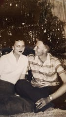 John and Dot Hawthorne married in 1952 at the First Methodist Church. The couple raised four children.