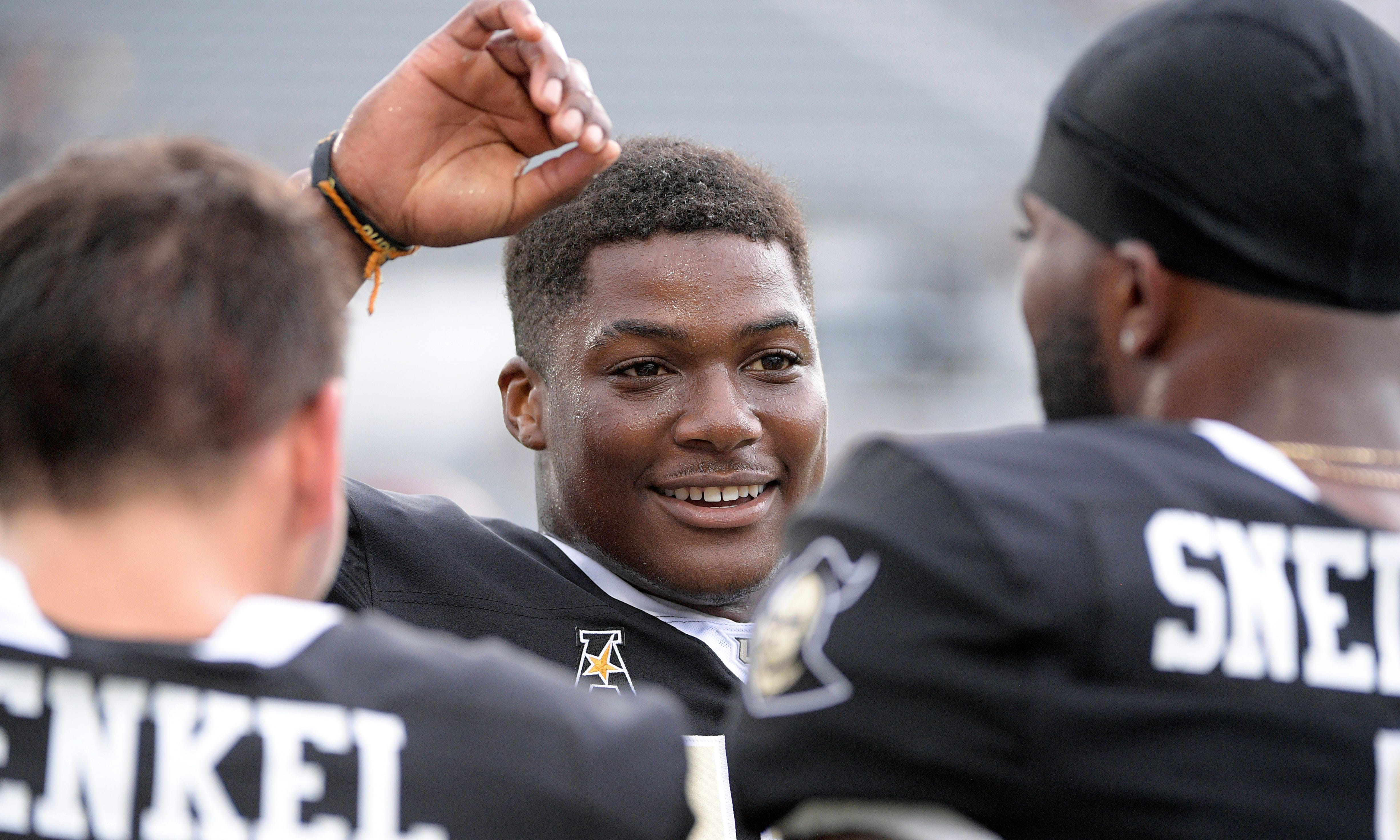 Central Florida wide receiver Marlon Williams is one of six players from McGill-Toolen in major college football this year.