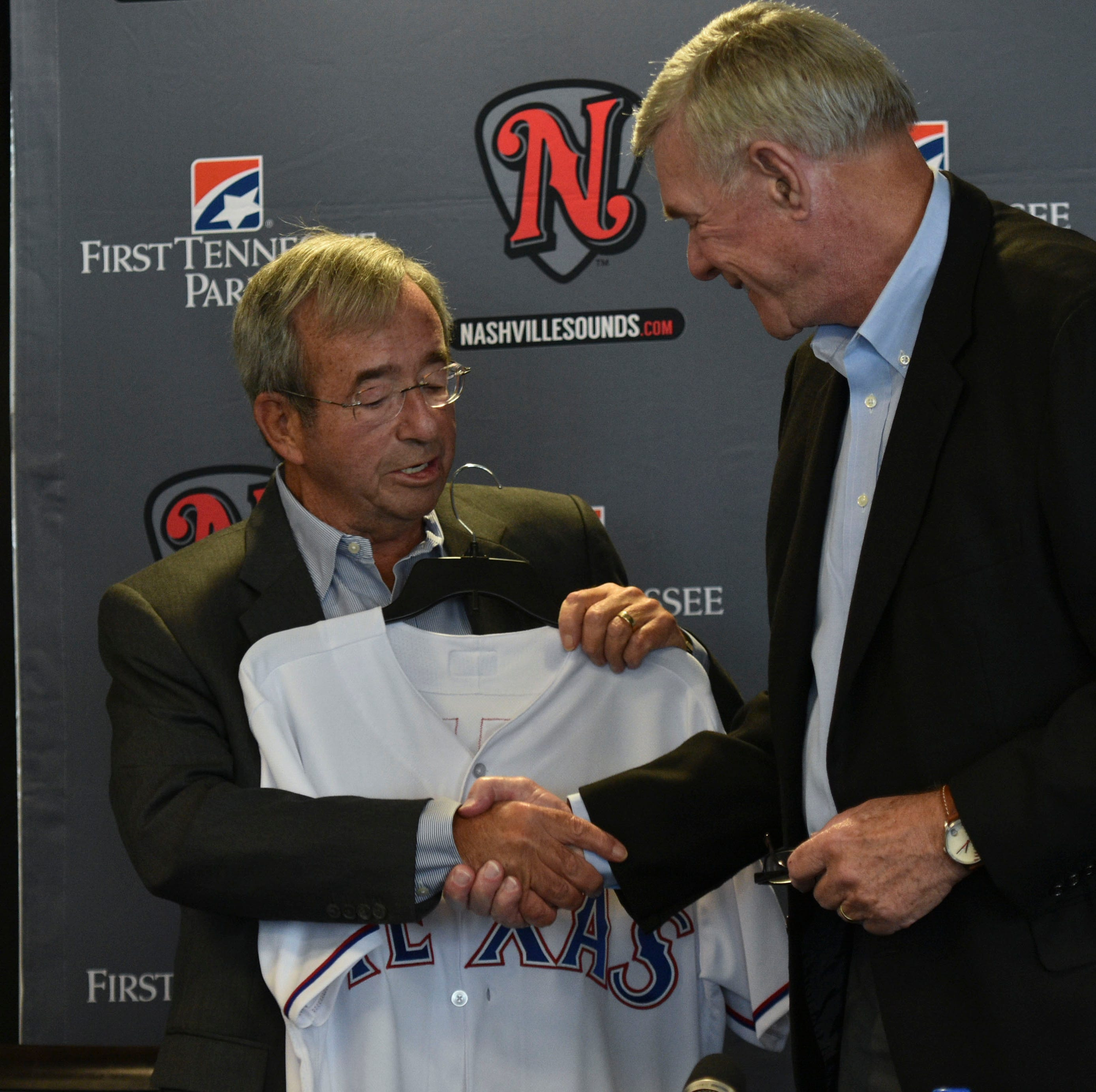Nashville Sounds and Texas Rangers will play exhibition game in 2019 or 2020