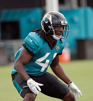 Cornerback Tre Herndon was the only undrafted rookie to make the Jaguars' 53-man roster on cut day.