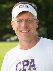 Christ Presbyterian Academy soccer coach Tom Gerlach